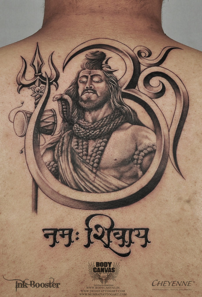 Best Shiva Tattoo / Mahadev Tattoo Designs & Ideas For Men - Best ...